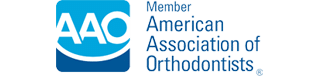 AAO Logo at Bradford Orthodontics in Bradford MA