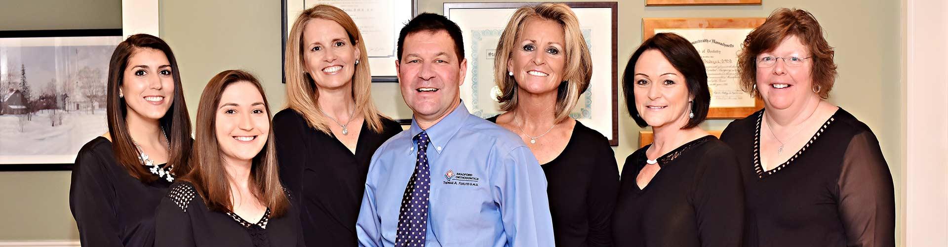 Staff Photo at Bradford Orthodontics in Bradford MA